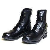 WILD WING(ワイルドウイング):ライディングブーツ 【ファルコン】 リングブーツタイプ ブラック 24.5cm Ladys WWM-0001-245BL