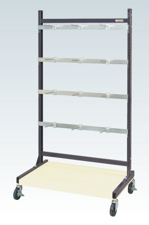 SAKAE(サカエ):ラックシステム(フックハンガータイプ移動式) PLS-1542HDR 【ポイント10倍】直送品につきはとなります。返品商品です。
