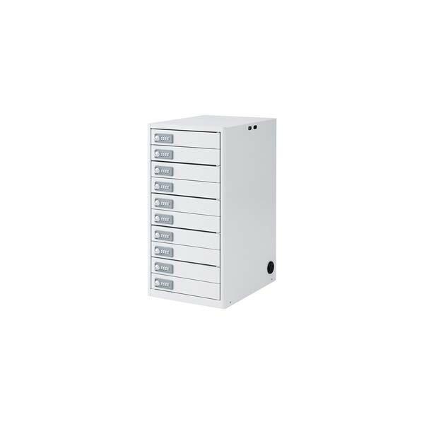 【代引不可】サンワサプライ:タブレット・スレートPC10台個別収納保管庫 CAI-CAB5N