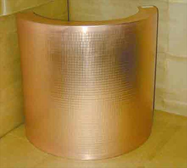 スギコ産業:銅製 天ぷら鍋ガード(槌目入) 48cm 厨房用品