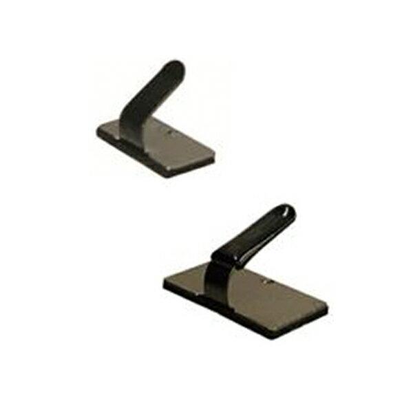 フジックス:配線止め金具 黒 50個 PT586