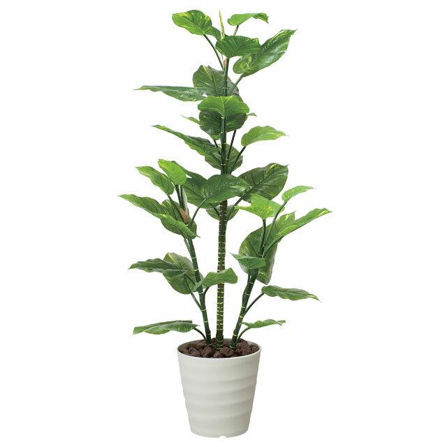 光の楽園:(362B220-27)フレッシュポトス1.5 92384 インテリア 光触媒人口植物 造花 観葉植物