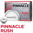 TITLEST(タイトリスト):PINNACLE RUSH ボール ホワイト (1ダース/12球入り) P4034S