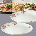 ボーンチャイナ桜さくら ラウンドプレート23cm中皿・大皿