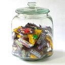 RoomClip商品情報 - ガラス クッキージャー 7リットル【ガラス製保存容器】アンティークガラスジャー米びつ ガラウス保存容器