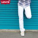 リーバイス メンズ ジーンズ ホワイト デニム LEVIS ...