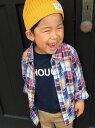 【SALE/20%OFF】coen 【coen kids】ダブルガーゼパッチワークシャツ(100ー150cm) コーエン シャツ/ブラウス【RBA_S】【RBA...