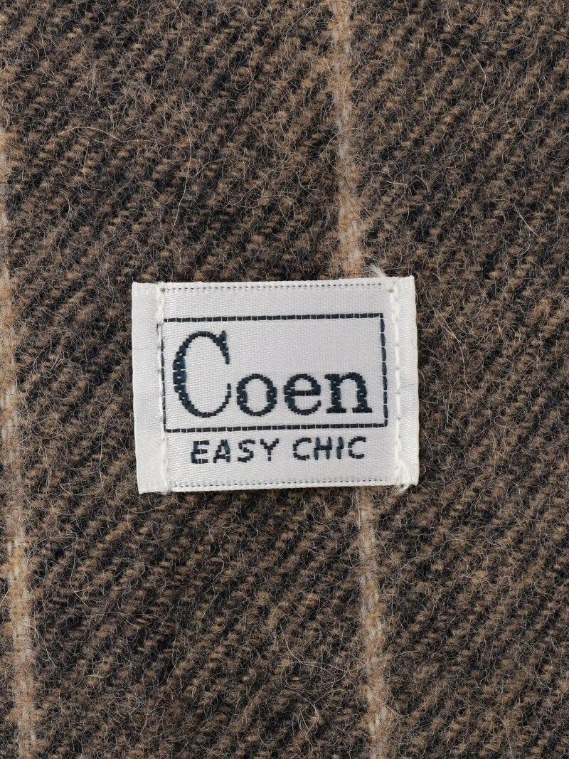 【141800_20160129】coen メンズ ファッショングッズ コーエン coen ウールグラデーションストライプマフラー コーエン ファッショングッズ【RBA_S】【RBA_E】