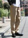 【SALE/37%OFF】coen ツイルワイドテーパードベルテッドパンツ コーエン パンツ/ジーンズ【RBA_S】【RBA_E】