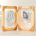 楽天アイデア.com【送料無料】出産祝い・誕生祝のギフトに最適♪一生の思い出になる赤ちゃんの頃の手型が残しておける、◆メモリアル手型アルバム[コジット]出産/御祝/ギフト/写真/手型/足型/記念/【RCP】