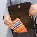 ◆カードがたっぷり入ってもスッキリ!バッグインスリムカードケース(20枚収納) [コジット]カードケース クレジットカード 薄い スリム ポイントカード 【RCP】 usque
