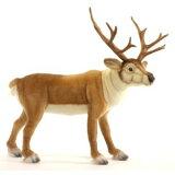 【HANSA】绒毛玩具北欧鹿60cm[【HANSA】ぬいぐるみ北欧シカ60cm]