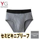 グンゼ【YG】セミビキニブリーフ(前あき)(YV0040N)...