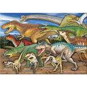 【恐竜 ミュージアム ジグソーパズル 恐竜 A3サイズ/720ピース】生物 ゲーム ティラノサウルス トリケラトプス