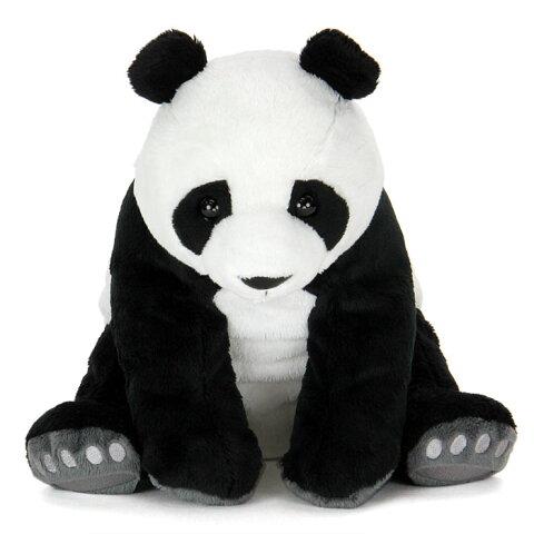 【動物 ぬいぐるみ ジャイアントパンダ 親 リアルアニマルファミリー】生物 クマの仲間