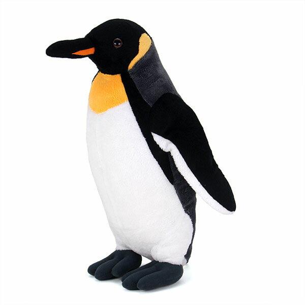 【動物 ぬいぐるみ キングペンギン 親 スタンデ...の商品画像