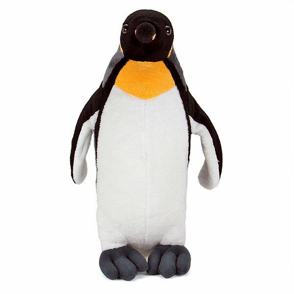 【動物 ぬいぐるみ キングペンギン 親 スタン...の紹介画像2