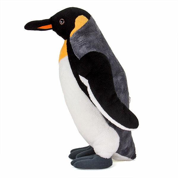 【動物 ぬいぐるみ キングペンギン 親 スタン...の紹介画像3