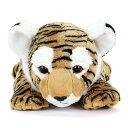 【動物 ぬいぐるみ トラ Lサイズ ねそべりシリーズ】生物 ネコ科