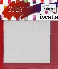 NAS800ANEST IWATAアネスト岩田ネイルアートブランクマスク10枚(130mm×130mm)MEDEA アネスト岩田キャンベル CAMPBELL エアーブラシなどに