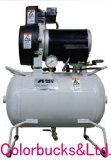 【TFP02C-10C】(旧TFP02B-10C) アネスト岩田 オイルフリーエアーコンプレッサー 0.2kW(1/4馬力) COMGシリーズ タンクマウントタイプ 単相100V仕