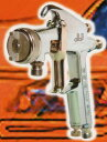 JJ-205-0.8-P 0.8口径 圧送式デビルビスJJ エアースプレーガン圧送式 (本体のみ)(加圧コンテナが必要です)塗料入口G1/4・エア入口G1/4