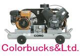 【PLUE37B-10】ANEST IWATA アネスト岩田エアーコンプレッサー PLUE37-B-10COMGシリーズ タンクマウントタイプガソリンエンジンアネスト岩田キャンベル