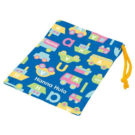 コップ袋 Hanna Hula ハンナフラ のりもの 子供用 ( 子供用 給食 袋 子供用コップ ) 【4500円以上送料無料】