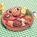 ランチプレート フェイスランチ皿  お子様ランチ アンパンマン 子供用 キャラクター ( お皿 プレ
