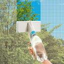 ハンディスプレー メラミンスポンジ ( 窓周り 窓掃除 アミ戸 ワイパー )【3900円以上送料無料】
