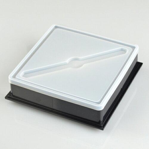 お弁当箱 ピクニックランチボックス 18cm オードブル重 3段 3900ml 白 お重 (     弁当箱 仕切り付 三段 重箱 おしゃれ 日本製 行楽 御重 洋風 三段重 大容量 レジャー ファミリーランチボックス シンプル ホワイト )
