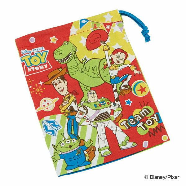 コップ袋トイ・ストーリー歯ブラシホルダー付き子供キャラクター給食袋(巾着幼稚園保育園巾着袋コップ入れ