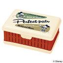 お弁当箱 折りたたみサンドイッチケース ミッキーマウス バッジコレクション ( サンドウィッチケース 1段 ランチボックス コンパクト収納 折り畳み 弁当箱 ミッキー ディズニー )