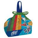 お弁当袋 ランチ巾着 サンダーバード 子供用 キャラクター ( 給食袋 ランチボックス巾着 子供用お弁当袋 サンダーバード ARE GO )