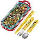 トリオセット 箸・フォーク・スプーン マーベル ポップコミック スライド式 キャラクター ( 食洗機対応 子供用…