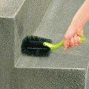 角洗いハードブラシ 中 ( 掃除 清掃 ブラシ 農機具 ブロック塀 屋外 ) 【3900円以上送料無料】