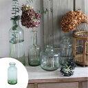 フラワーベース クラシカルガラス A ( 花瓶 花器 ガラス エアプランツ 多肉植物 ガーデン )
