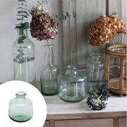 フラワーベース クラシカルガラス B ( 花瓶 花器 ガラス エアプランツ 多肉植物 ガーデン ) 【4500円以上送料無料】