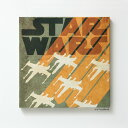 スターウォーズ スミノエ STAR WARS ファブリックパネル X-WING ( スターウォーズシリーズ インテリア 壁掛け グッズ スター・ウォーズ アート インテリアファブリック )