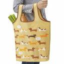 ショッピングエコバッグ エコバッグ ショッピングバッグ イヌとネコ 折りたたみ コンパクト ( トートバッグ 買い物バッグ 買い物袋 レジバッグ コンビニバッグ バッグ 手提げ袋 エコロジーバッグ いぬ 犬 ねこ 猫 ) 【3980円以上送料無料】