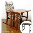 テーブル 高座椅子用 くつろぎテーブル 約幅80cm ( 送料無料 和室 机 木製 デスク 小型 パソコンデスク )