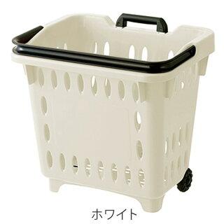 キャリングバスケットハンドルロック式キャリーカートショッピングカート買い物カゴ