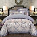贅沢な刺繍 ロマンティックなお部屋を演出する 高級素材高密度織り綿サテン採用 ★布団カバ