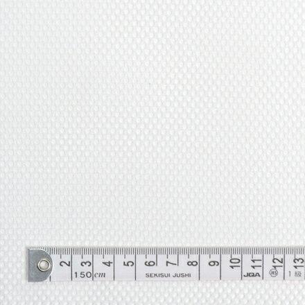 商用利用可 生地 メッシュ 生地 無地 ホワイト ポリエステルメッシュ・オフホワイト(ソフトタイプ) メッシュ生地 ネコポス対応