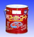 [L] アサヒペン 油性スーパーコート [1.6L] アサヒペン・シリコンアクリル樹脂塗料・鉄製品・木製品・セメント瓦、しっくい・モルタル・FRP・硬質塩ビ ※色の選択が2つに分かれています
