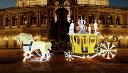 ★クリスマスイルミネーション★黄金の馬車