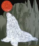 ★动物灯饰★LED水晶glow 海狗[★アニマルイルミネーション★LEDクリスタルグロー オットセイ]