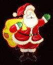 ★クリスマスイルミネーション★ボードタイプ サンタクロース