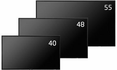 55型タッチパネル内蔵大画面液晶ディスプレイ NECディスプレイソリューションズ MultiSync LCD-V554-T 他社より安くします!