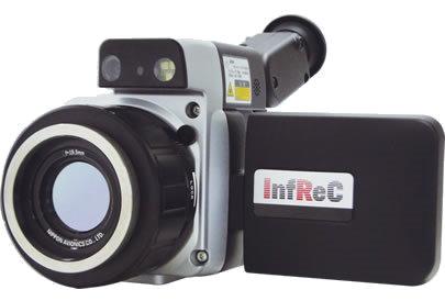赤外線サーモグラフィー NECAvio InfReC Thermography ガラス表面計測モデル R300BP-OG